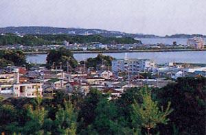 田辺素描-古道沿いの景観 1