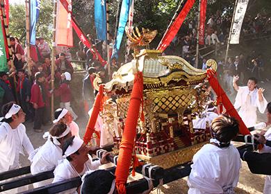 芳養八幡神社秋祭