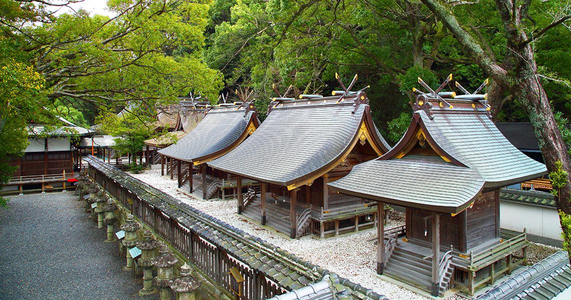 鬪雞神社 社殿