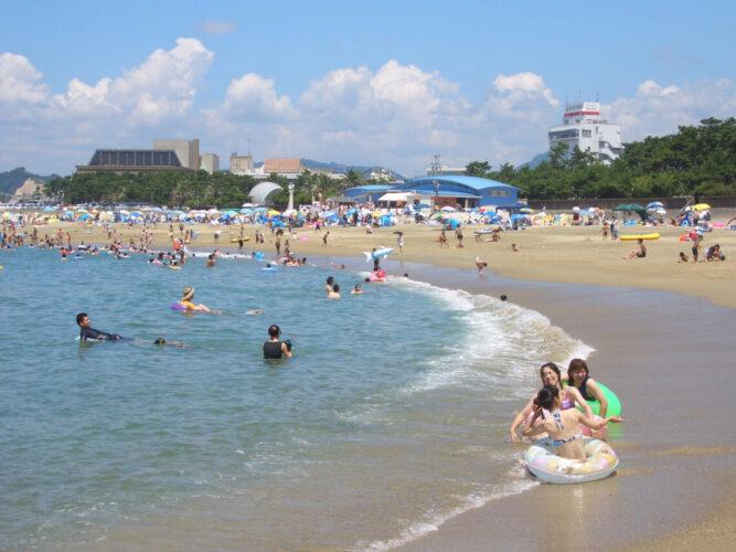 扇ヶ浜海水浴場